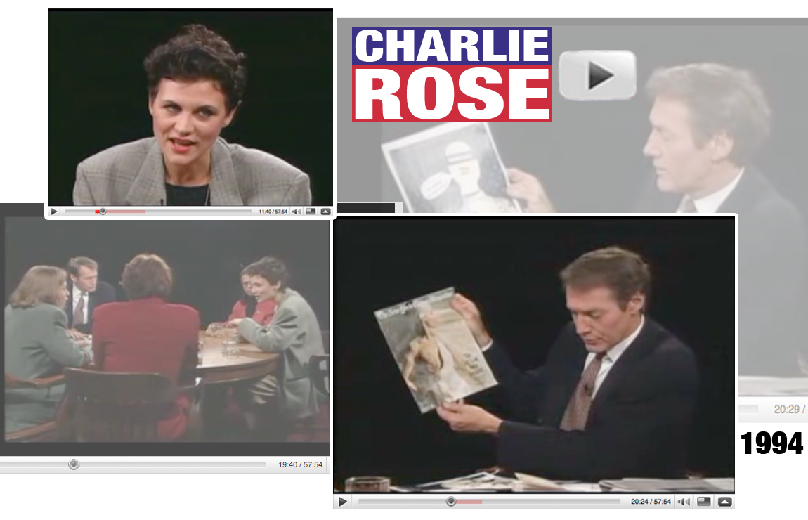 Click to see Matuschka on Charlie Rose!